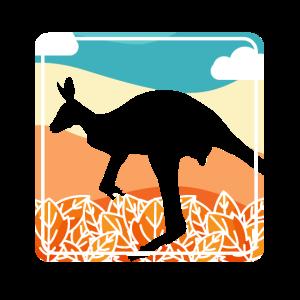 Känguru Down Under