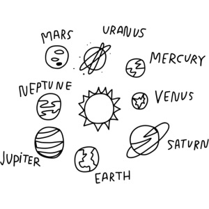 graphic solarsystem