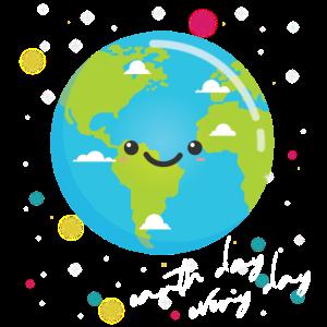 Earth Day Shirt Kids Women Men Happy Earth Day