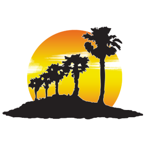 Sunset mit eigenem Text