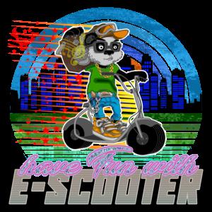 Escooter Electricscooter cooler Panda