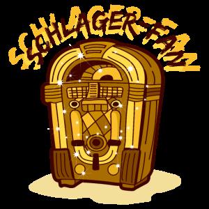Schlagermusik Jukebox Schlagerfan Cool Statement