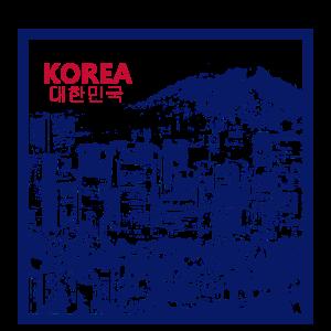 KOREA Seoul City-Grafik