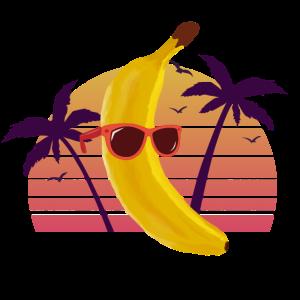 Banane Sonne Strand Lustig