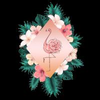 Flamingo Hawaii Rose Blume Flower Tropic tropical