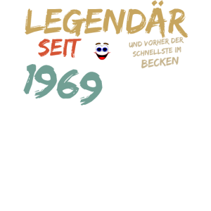 Legendär seit 1969 50 Geburtstag Shirt Geschenk