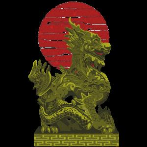 Orientalischer Drache