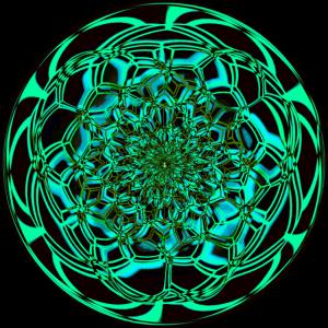 Trippy Mandala Fraktal