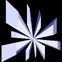 Blauer- Kristall