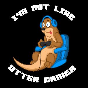Otter Gamer Gaming Otter like otters Geschenk