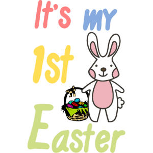 Its my 1st easter- Mein erstes Ostern Osterhase