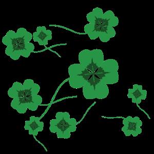 Kleeblätter Muster