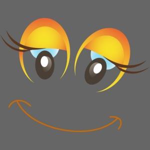 Eye series - yellow eye clown