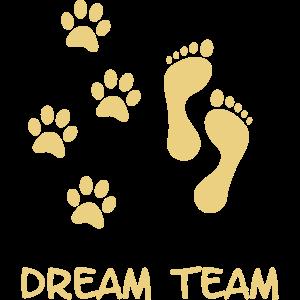 Dein Hund und Du das Dreamteam. Hunde Freund