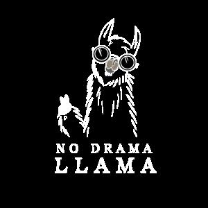 NO DRAMA LAMA - cooles und lustiges Lama Geschenk