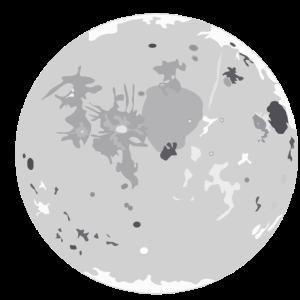 Mond Cartoon