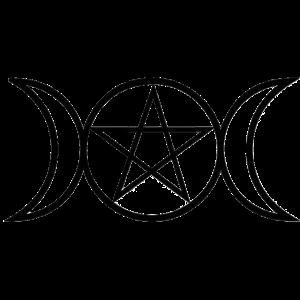 Wicca Mondsymbol