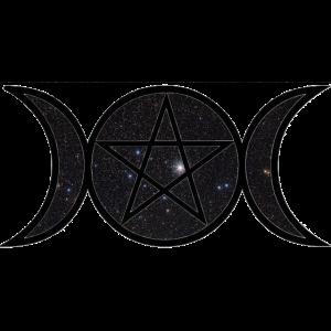 Wicca Sternenhimmel