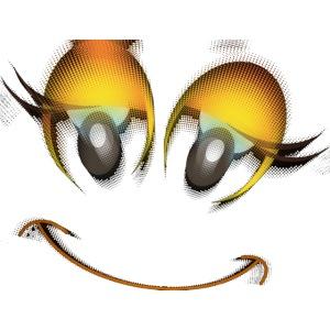 Eye series - golden eye Clown 2