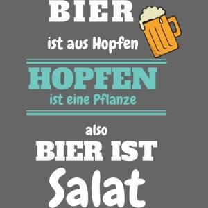 Bier ist aus Hopfen - Bier ist Salat