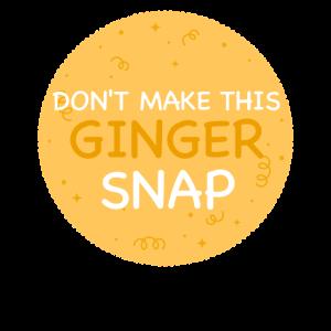 Rotschopf Rote Haare Ginger Red Head Geschenk