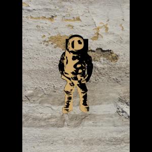 Streetart Kosmonaut