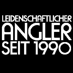 Leidenschaftlicher Angler seit 1990 Geschenk shirt