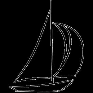 Segelboot Schiff Boot Segeln Geschenk Segelschiff