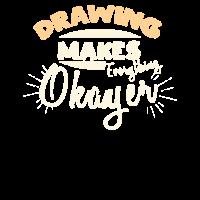 Niedliche Zeichnung macht alles okayer