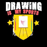 Cooles Zeichnen ist mein Zeichnungskünstler