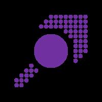 Muster - Form - Kreis - Pfeil - lila - 2