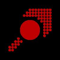 Muster - Form - Kreis - Pfeil - rot - 2