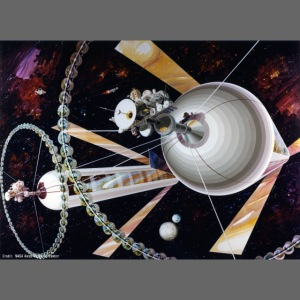 Cylindrical Colonies - NASA Space Colony Study