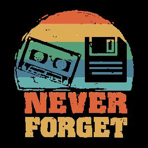 Retro Vintage Kassette Diskette