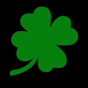 St Patricks Day grün Kleeblatt vier Blätter Glück