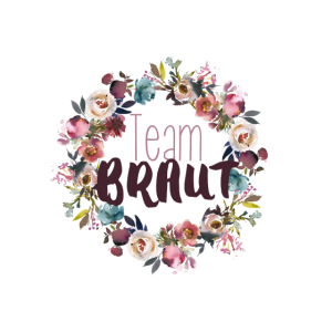 Team Braut Blumenkranz