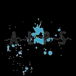 ALPS - BERGE - BLAU