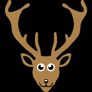 Tierzeichnung Hirsch 411