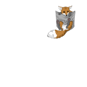 Fuchs Fennek Rotfuchs Fuchs in Tasche Geschenk