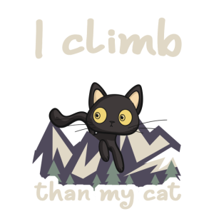 I climb better than my cat