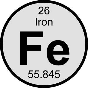 Iron (Fe) (element 26)