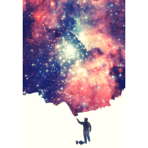 Painting the universe - Handycase