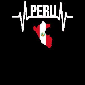 Peru Südamerika Geschenk T Shirt