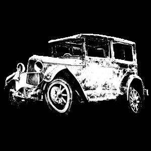 Oldtimer Auto Schrott PKW Historisch