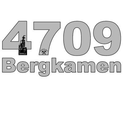 4709 - Meine Heimat, mein Revier, BERGKAMEN - ruhrgebiet,Ruhrpott,BERGKAMEN,4709