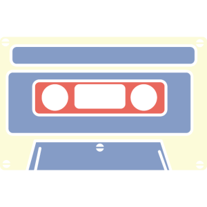 Kassette Audio 80er 90er vintage Tape