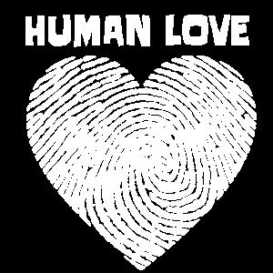 human love,T-Shirt Geschenkidee