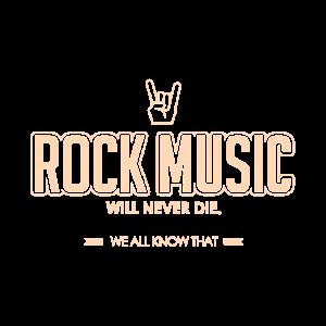 Rock Musik Schlagzeug