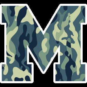 Dein Lieblingsbuchstabe M Camouflage