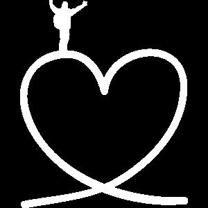 Wanderer auf Herz